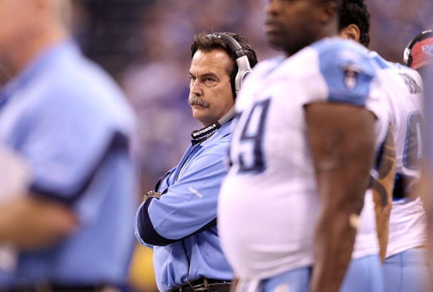 Jeff Fisher con los Titans