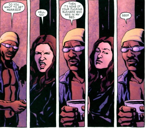 Jessica Jones Luke Cage Cómic