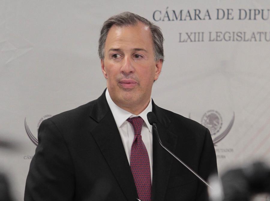 El Secretario de Hacienda, José Antonio Meade, presentó el Paquete Económico para 2017