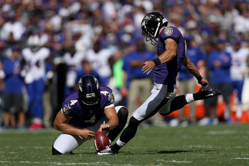 Justin Tucker Ravens patada