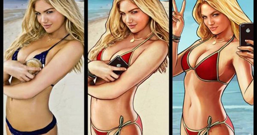 Kate Upton Grand Theft Auto V