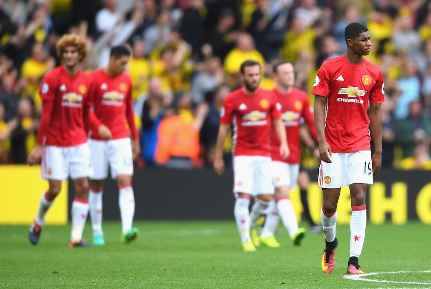 Manchester United ha salido dormido en todos los partidos