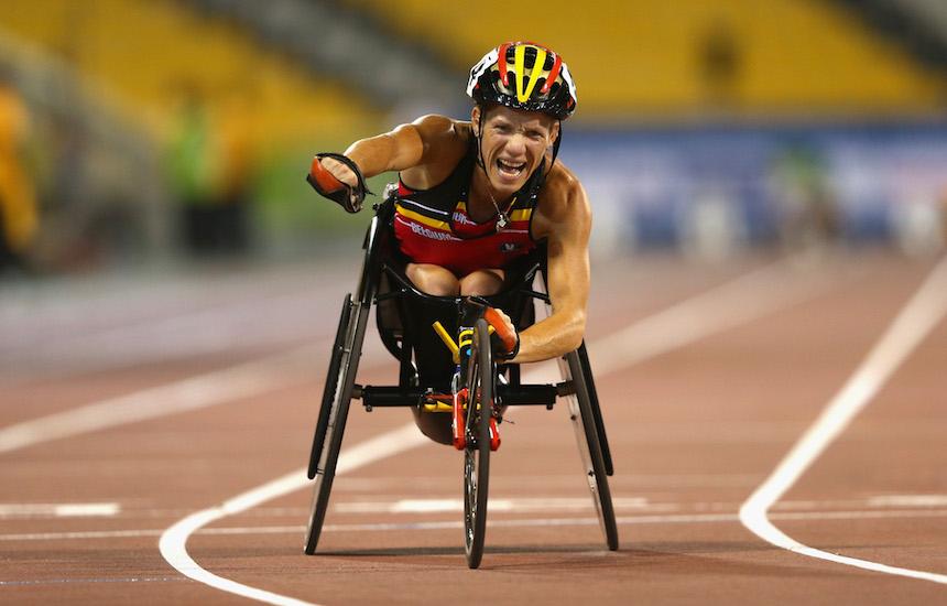 Marieke Vervoort ganó la medalla de plata en Río