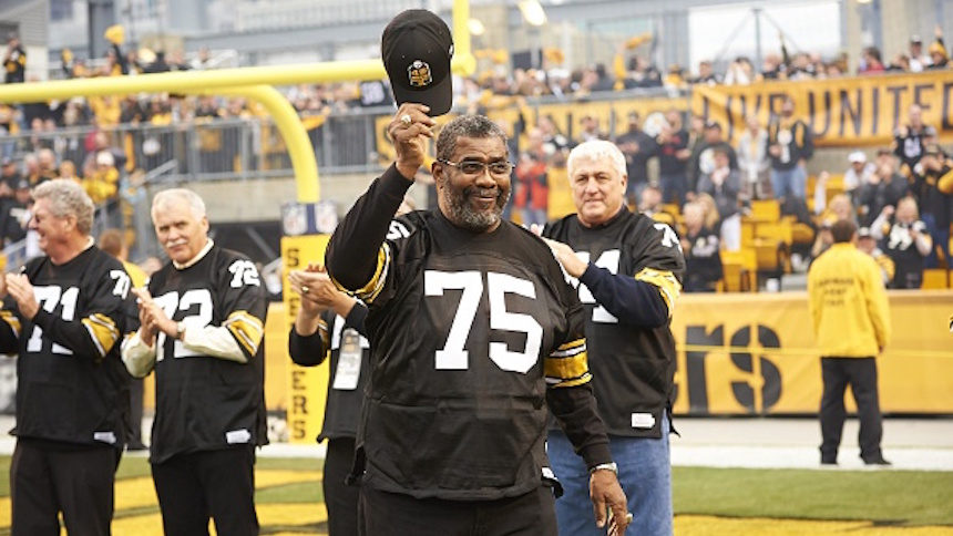'Mean' Joe Greene, la piedra angular de la 'Cortina de Acero'