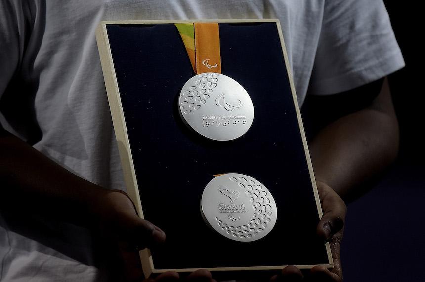 medalla paralimpicos