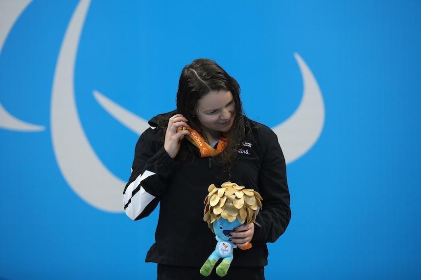 medallista paralimpica