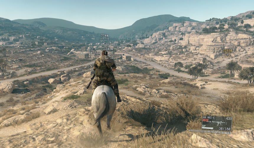 Metal Gear V Mundo Abierto