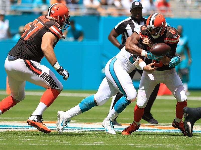 Cleveland Browns versus Miami Dolphins