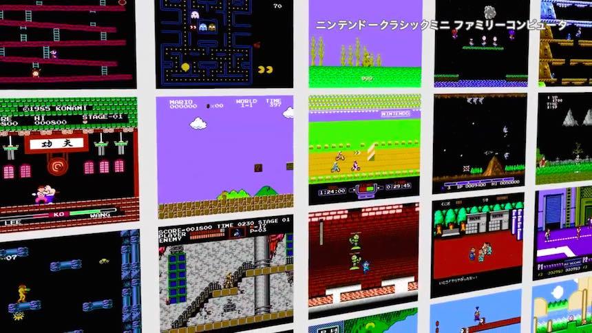 Mini Famicom Juegos