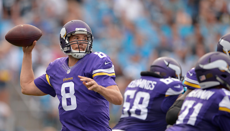 Minnesota Vikings versus Carolina Panthers