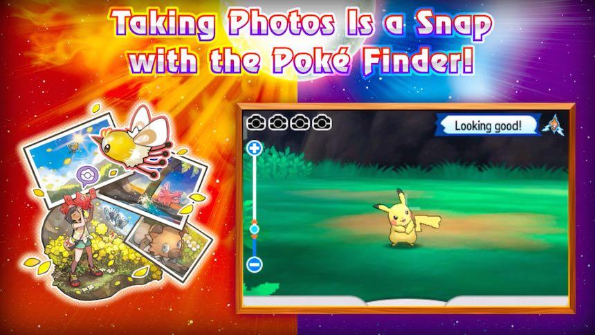 Modo Fotografía Pokémon Sun/Moon
