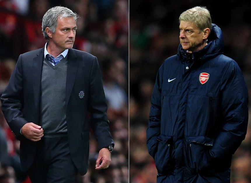 Mourinho y Wenger se volverán a enfrentar hasta el 19 de noviembre y los fanáticos de la Premier League ya no pueden esperar