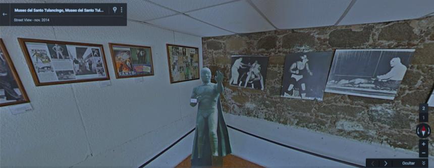 Museo del Santo visto desde Street View