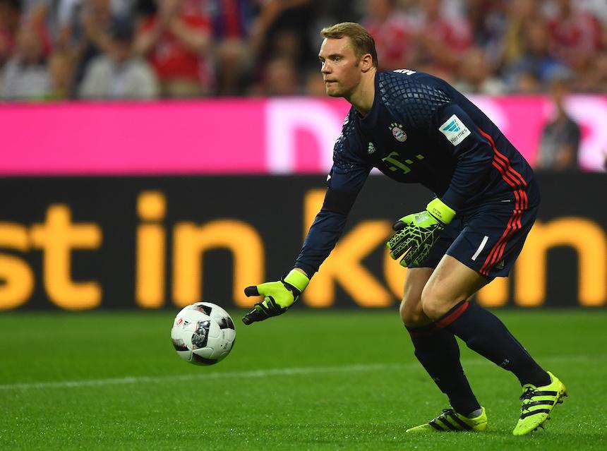 Manuel Neuer - Partido con el Bayern Munich