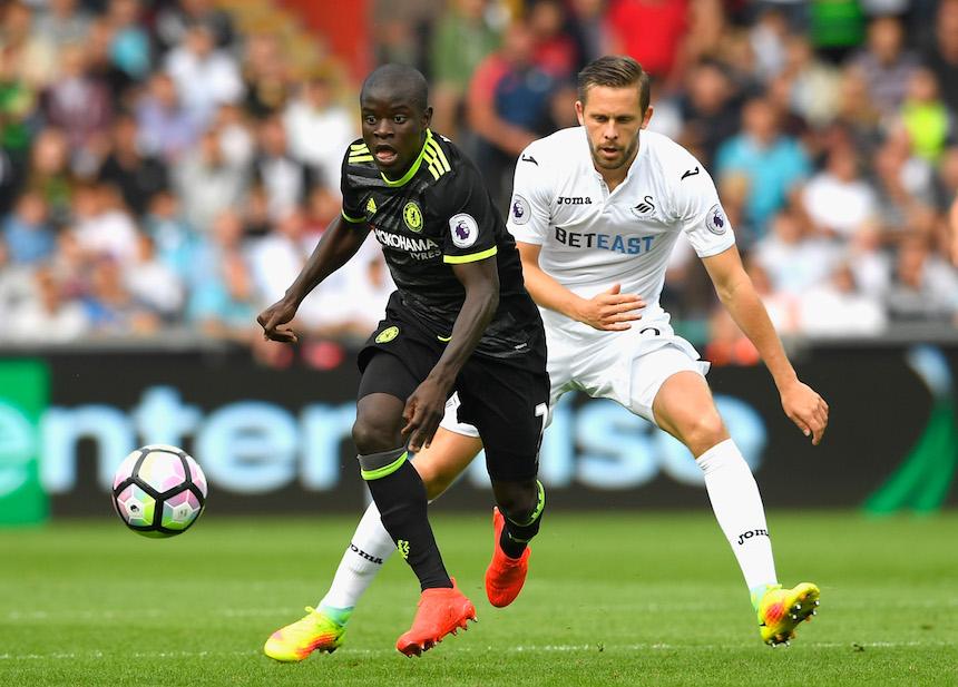 kante ha demostrado un enorme talento desde su llegada al Chelsea