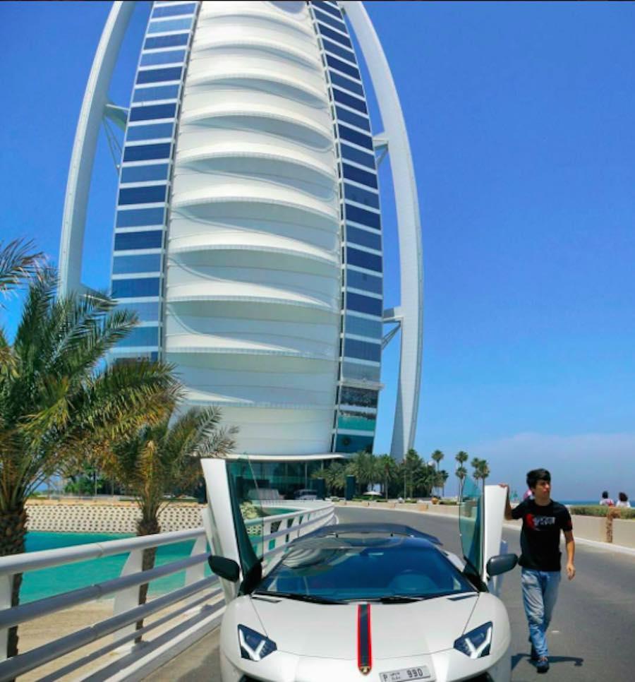 Niños ricos de Dubai