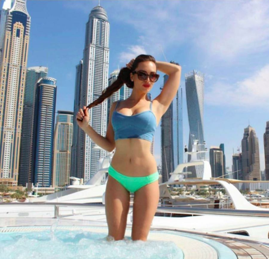 Joven millonaria en Dubai