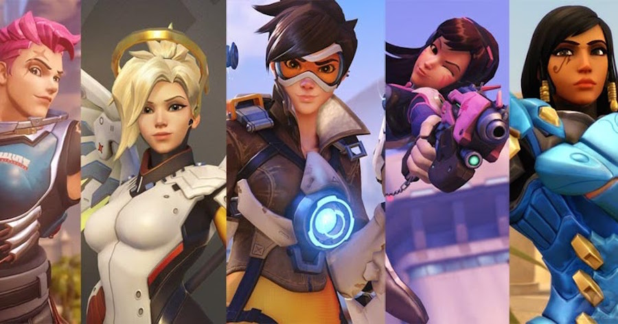 Personajes femeninos de Overwatch