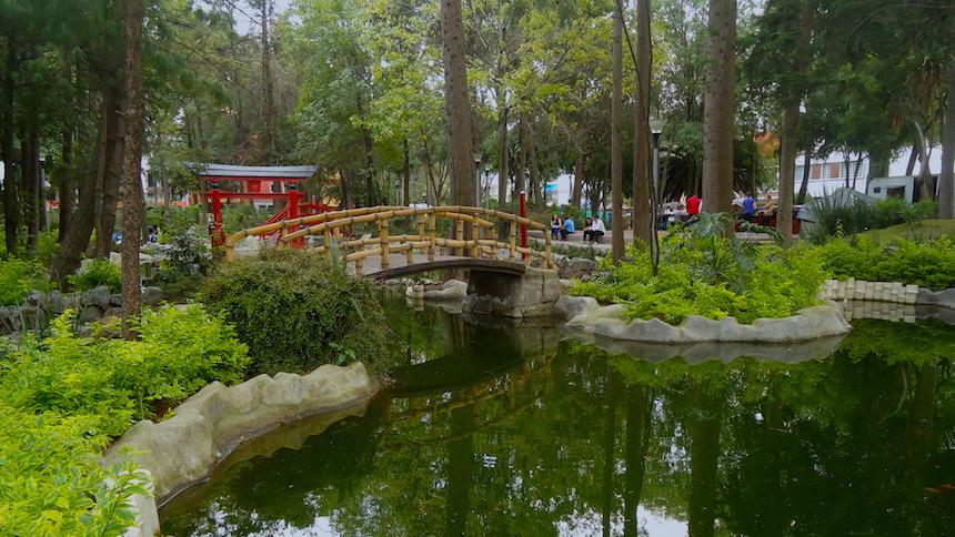 Vagando con presenta el parque de la pagoda for Parque japones precio de entrada