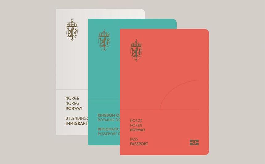 Pasaportes Noruega