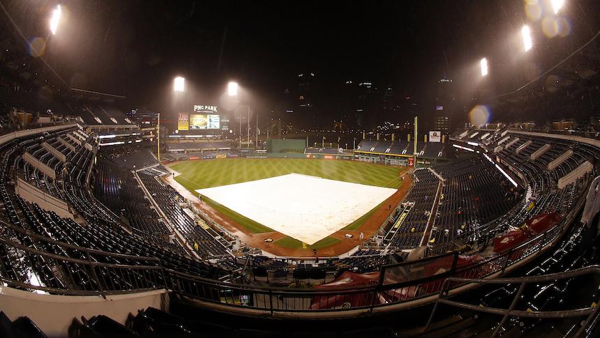 Pirates y Cubs no terminaron el juego por la lluvia