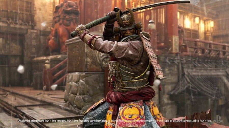 PlayStation Pro For Honor