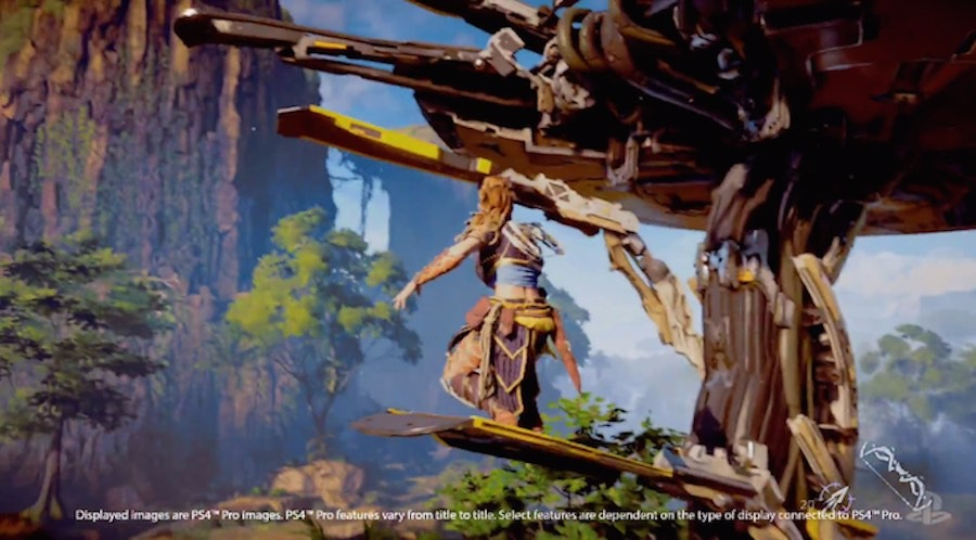 PlayStation Pro Horizon Zero Dawn