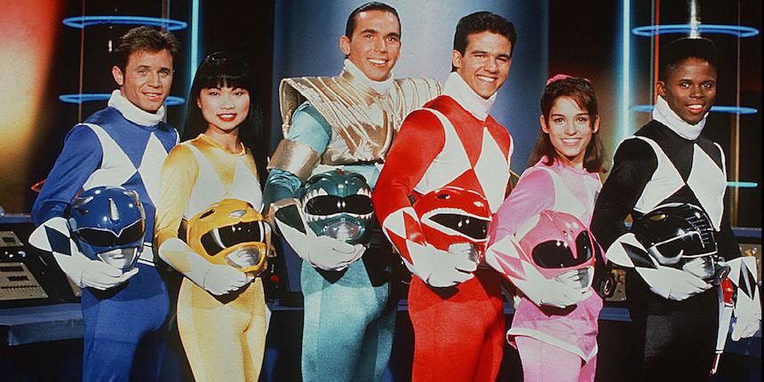 Elenco original Power Rangers