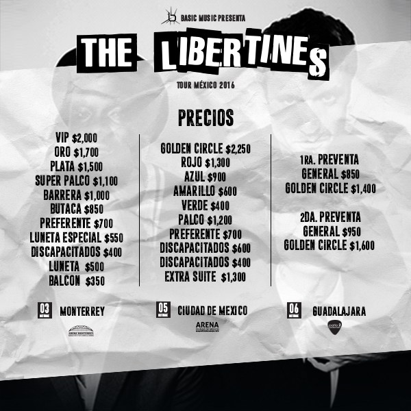 precios-the-libertines-mexico