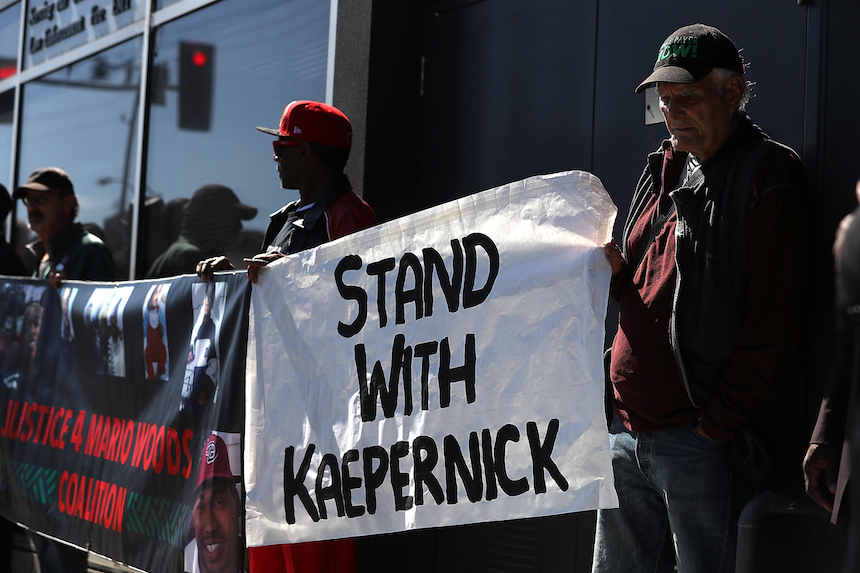 Colin Kaepernick ha impulsado diferentes protestas en los Estados Unidos