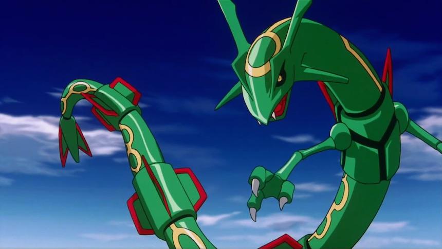 Rayquaza Dragones 2