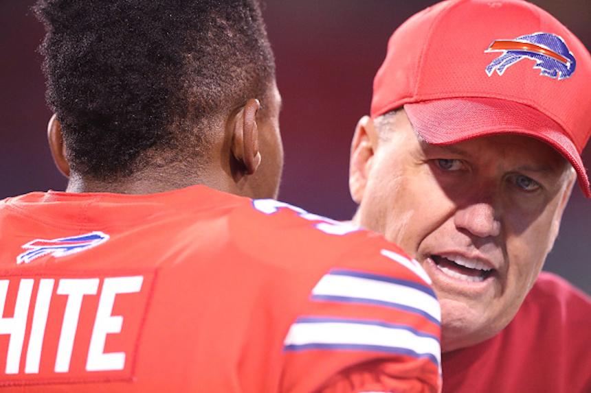 Rex Ryan, head coach de los Bills