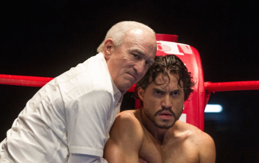 Robert De Niro regresa a los cuadriláteros en Hands of Stone