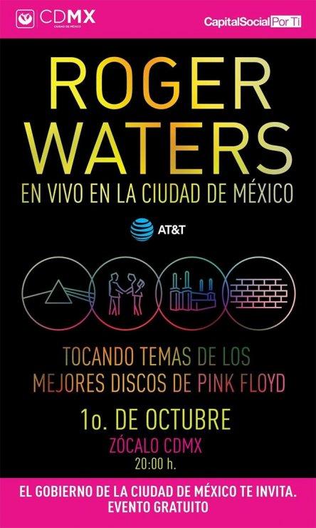Roger Waters en el Zócalo