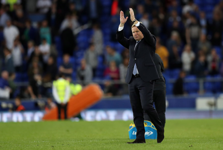 Ronald Koeman está haciendo un excelente trabajo con el Everton