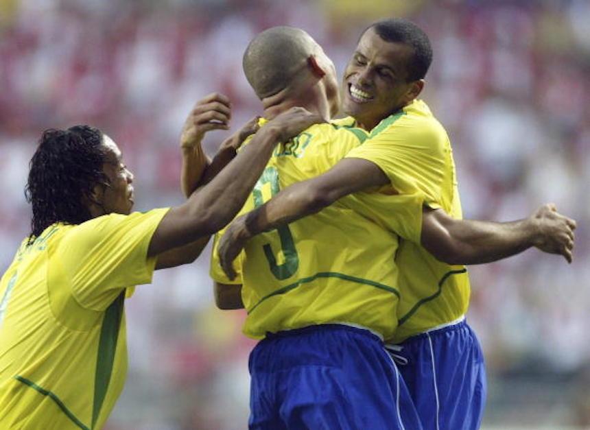 Ronaldo Ronaldinho y Rivaldo