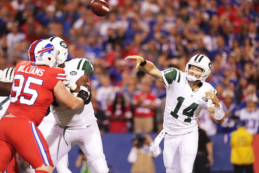 Ryan Fitzpatrick, QB de los Jets