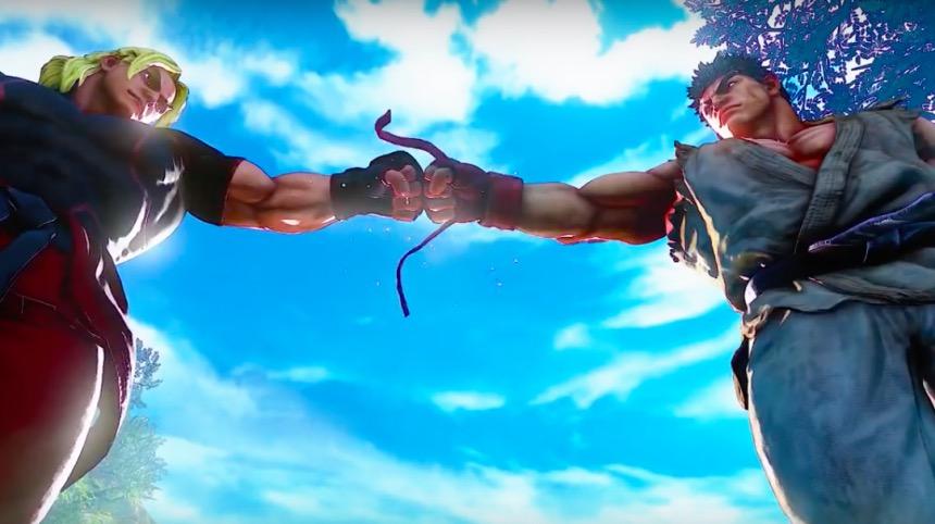 Street Fighter 5 Ryu & Ken