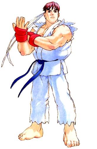 Ryu Street Fighter Alpha 2