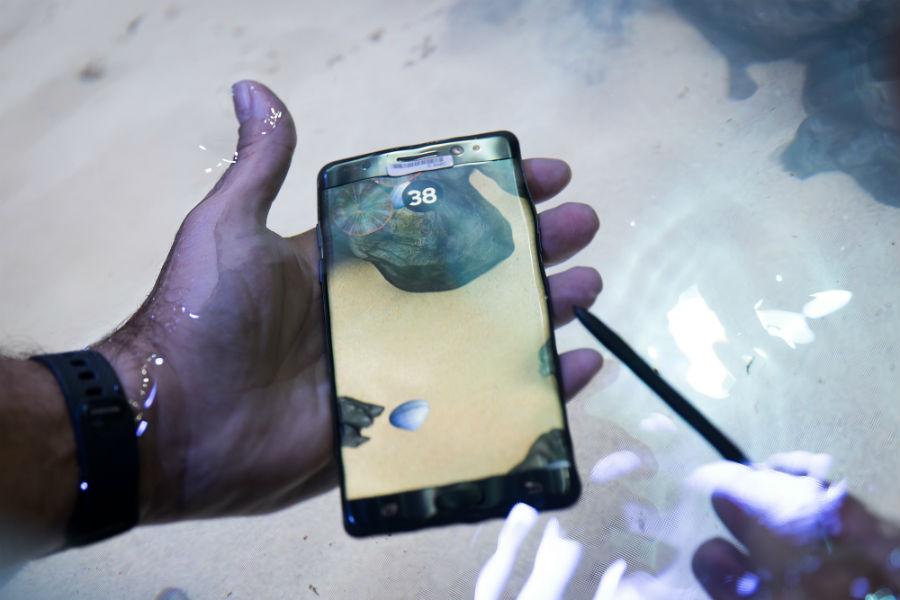 El teléfono Galaxy Note 7 ha provocado varios accidentes