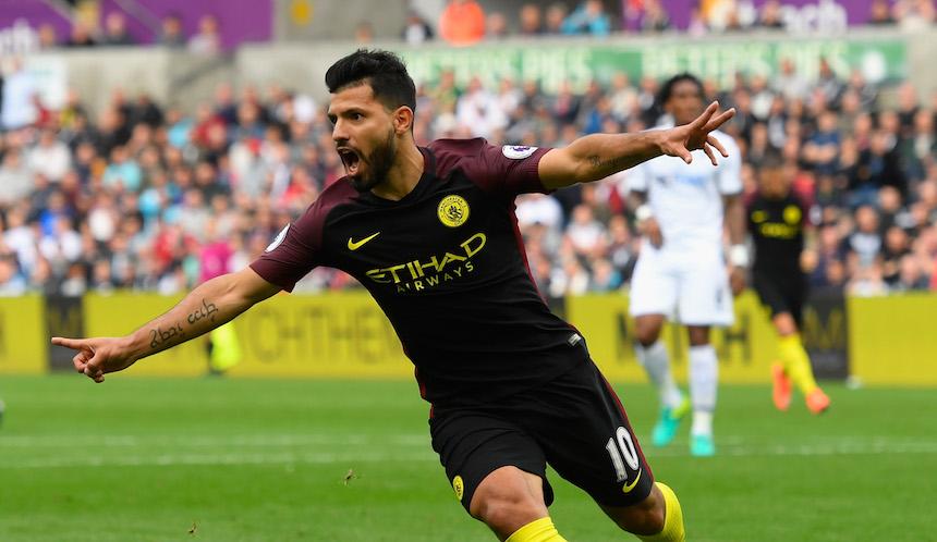 El Kun es la pieza clave de este Manchester City