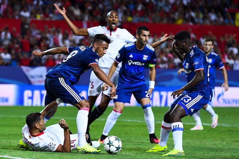 Sevilla FC contra Olympique Lyonnais - UEFA Champions League