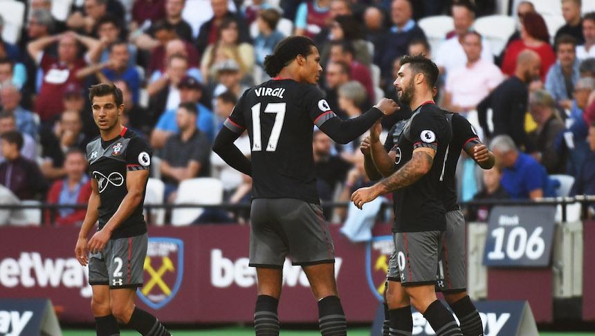 Southampton termina de hundir al West Ham United y los vence 0-3 a domicilio