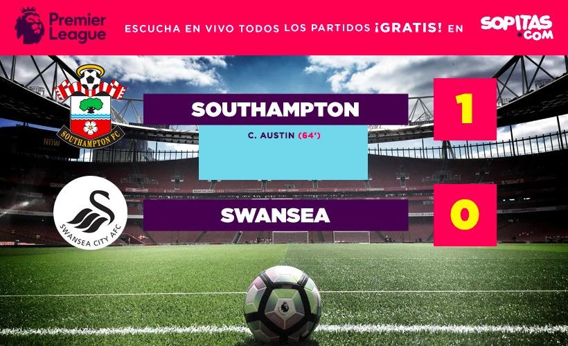 Southampton se llevó el triunfo 1-0 sobre el Swansea
