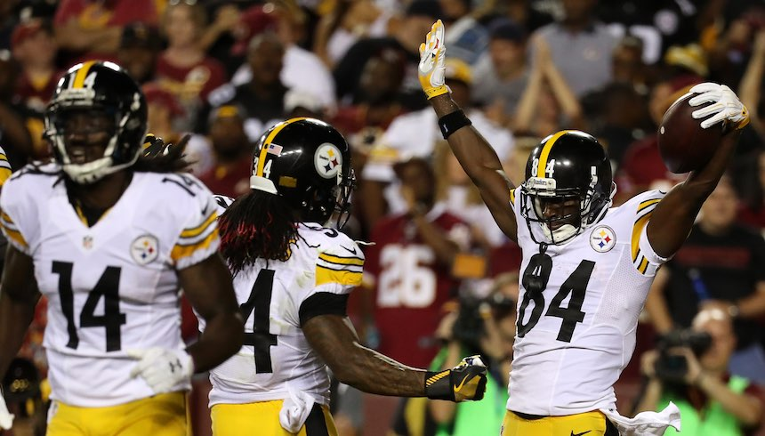 Steelers vs Redskins - Semana 1 NFL.