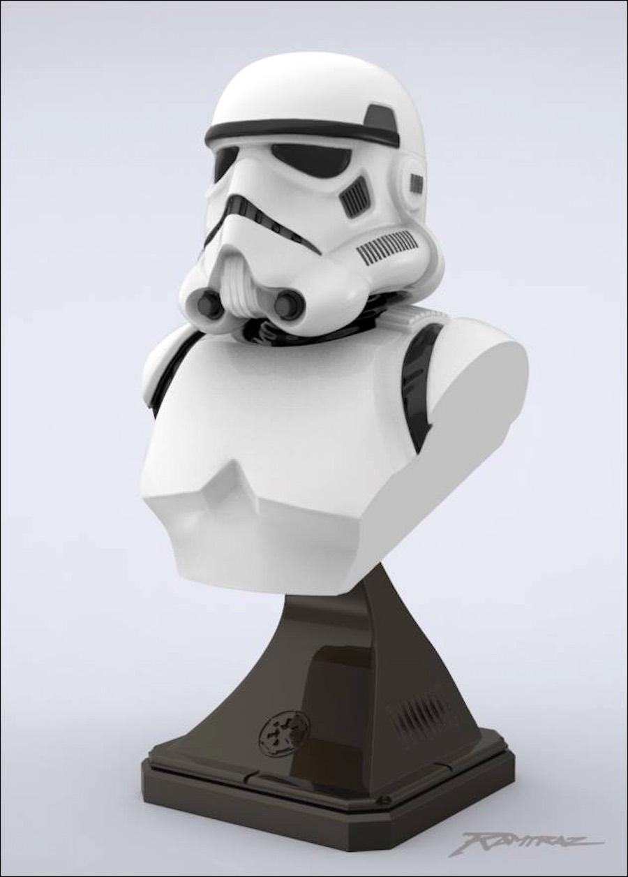 Modelo de Stormtrooper