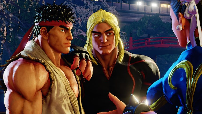 Street Fighter 5 Modo Historia