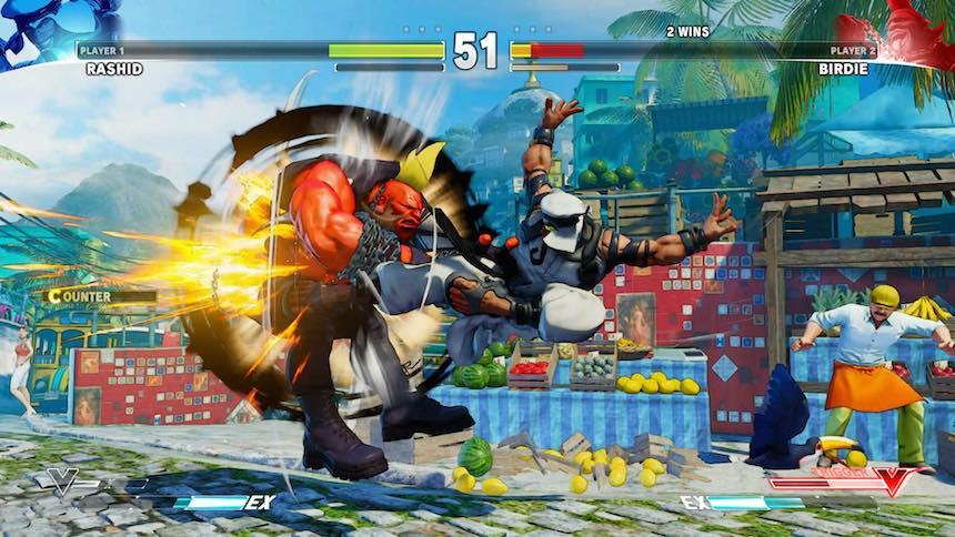 Street Fighter 5 Vs Mode