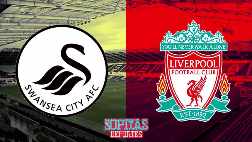EN VIVO: Liverpool busca su cuarto triunfo seguido contra el Swansea