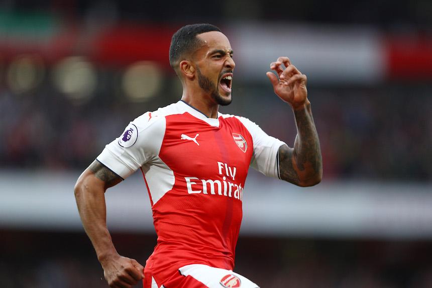 The Walcott logró el segundo gol del Arsenal en el encuentro